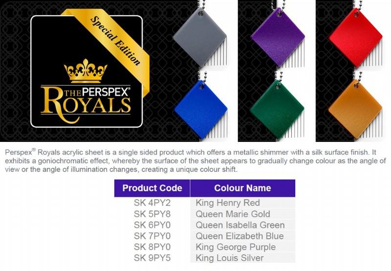 Perspex Royals