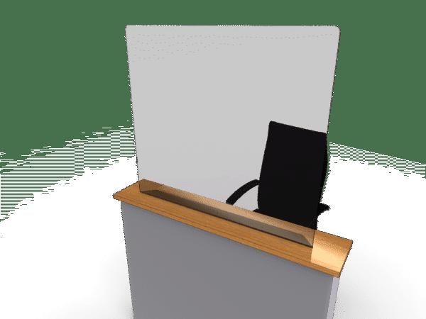 Desk Setup Reception Desk
