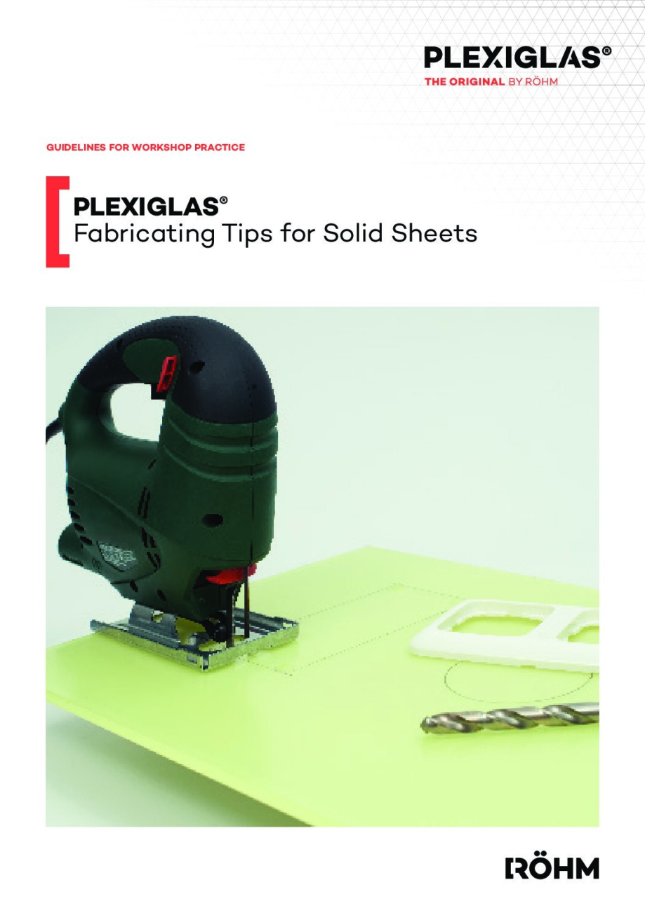 311 5 Fabricating Tips for PLEXIGLAS pdf - Technical Library