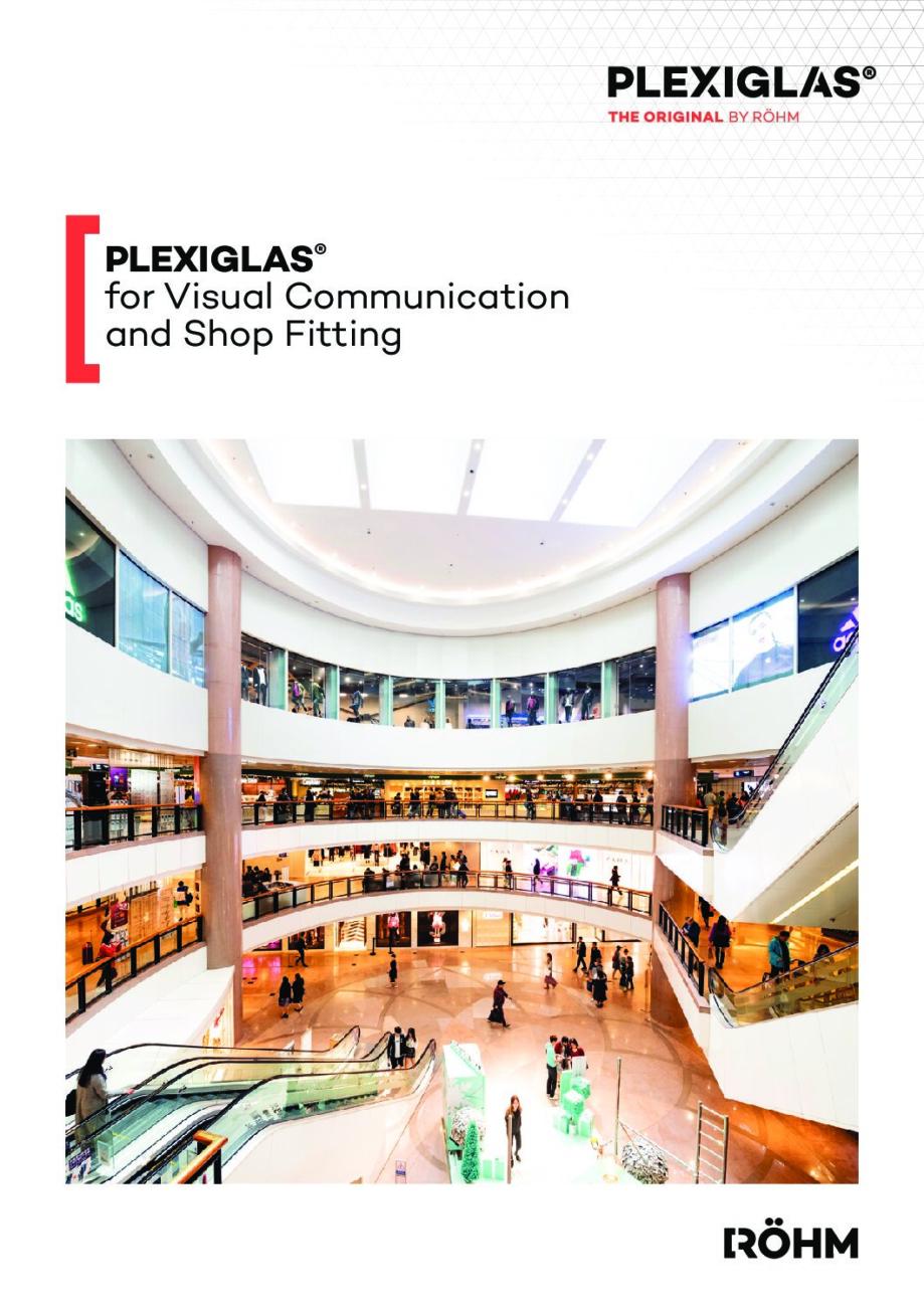 511 8 EN PLEXIGLAS for visual communication and shop fitting web pdf - Technical Library